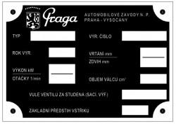 štítok Praga 1
